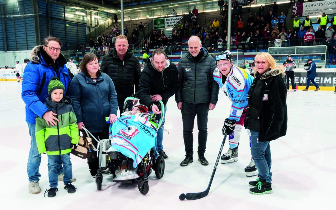 Charity-Events im Heilbronner Sport: Aktionen von Eisbären und RED Devils