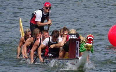 Neckardrachen beherrschen Europa: Medaillenflut bei der Drachenboot-EM