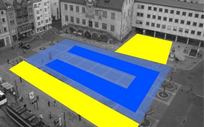 Hochsprung-Meeting auf dem Heilbronner Marktplatz