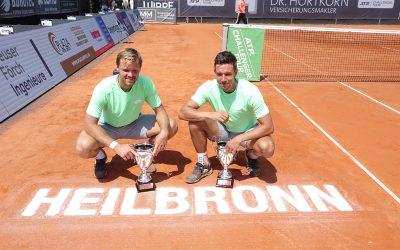 Kevin Krawietz und Andi Mies – Vom Neckarcup-Sieg zum Grand Slam-Titel