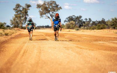 Claudi & Kuno Konowski: 465 Kilometer zu Fuss durch´s Australische Outback