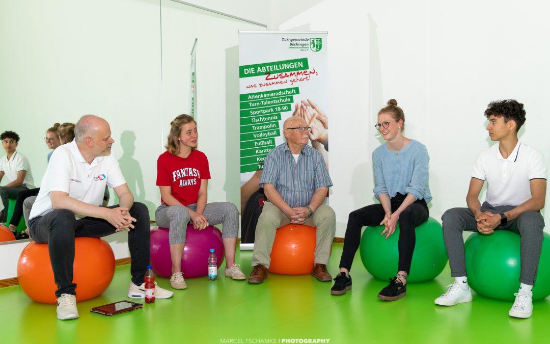 """Antonia Alicke und Milan Hosseini – Zwei """"Auswärtige"""" auf Heimatbesuch in Böckingen"""