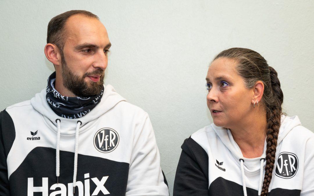 "SELGROS ""Stille Helden des Heilbronner Sports"": Natascha Clark + Marco Baam (VfR Heilbronn)"