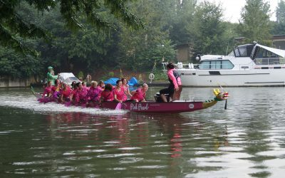 """Pink Pearls – Paddeln gegen Brustkrebs: """"Wir sitzen alle in einem Boot"""""""