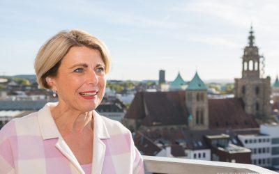 """Bürgermeisterin Agnes Christner: """"Durch Sportheilbronn neue Sportarten entdeckt"""""""