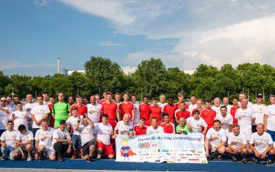 """Benefizspiel: 9.282 Euro für die """"Kleinen Helden"""""""