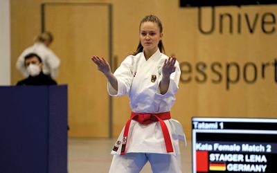 Lena Staiger: Karate-Neustart in Salzburg