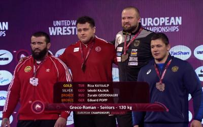 Eduard Popp holt EM-Bronze
