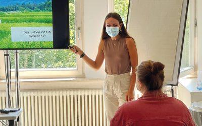 Bera Wierhake an der Uni Tübingen: Vortrag über Organtransplantation