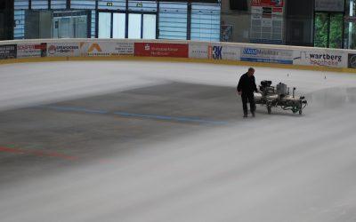 Wie kommt eigentlich das Eis in die Heilbronner Eishalle?