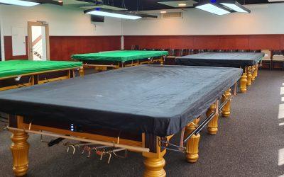 TSG-Snookerarena ist startklar
